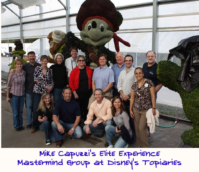 Mike-Capuzzi-Mastermind-Group-Disney-World-Topiary