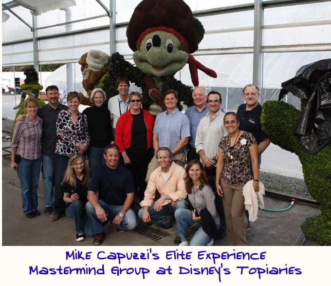 Mike-Capuzzi-Mastermind-Group-Disney-World-Topiary
