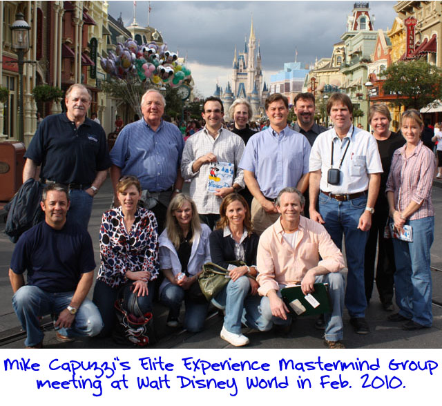 Mike Capuzzi Mastermind Group In Disney World