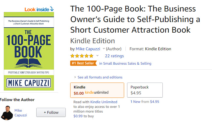 Main-Street-Author-Podcast-100-Page-Book-Kindle