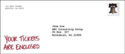 CopyDoodles envelope