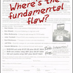 Find the fundamental flaw contest – a response form critique