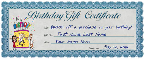 3 ways to profit with personalized gift certificates