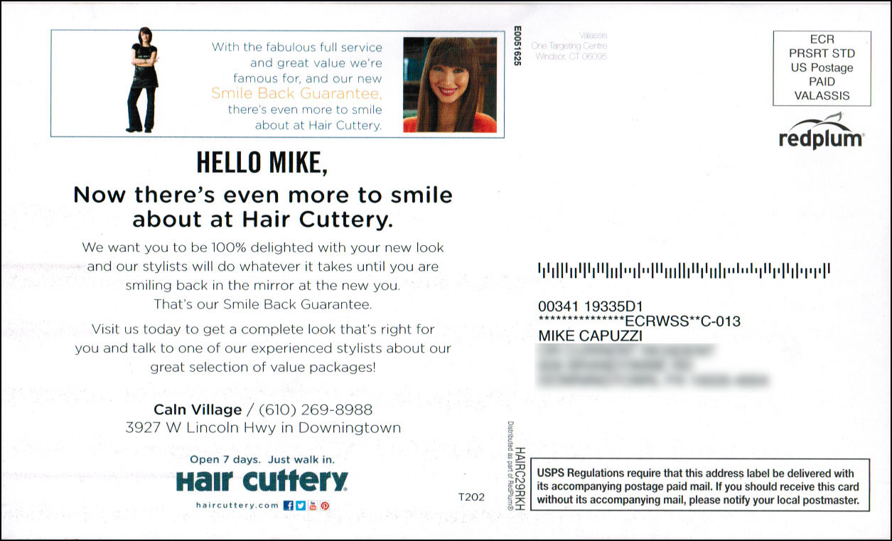 high impact marketing no no a personalized postcard example mike
